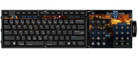 Клавиатурка в стиле StarCraft 2