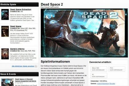 Смотрите - Dead Space 2 на PC!