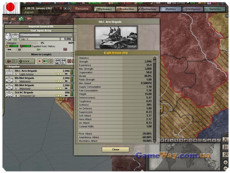 Hearts of Iron 3: Semper Fi скриншоты