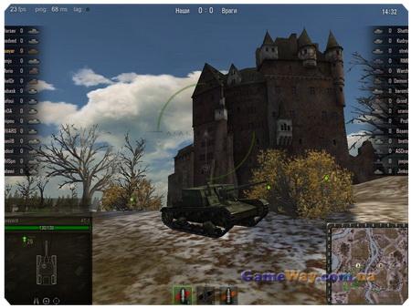 Скриншоты World of Tanks
