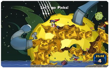 Смотреть все скриншоты игры Worms Reloaded