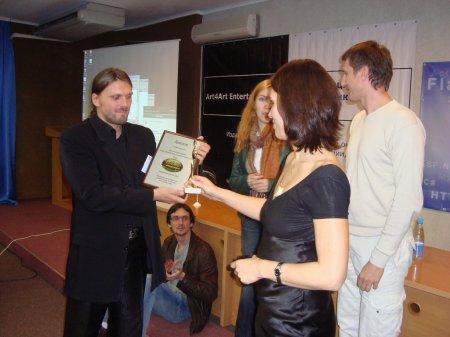 Создатель My Lands Арсений Назаренко получает главную награду конференции