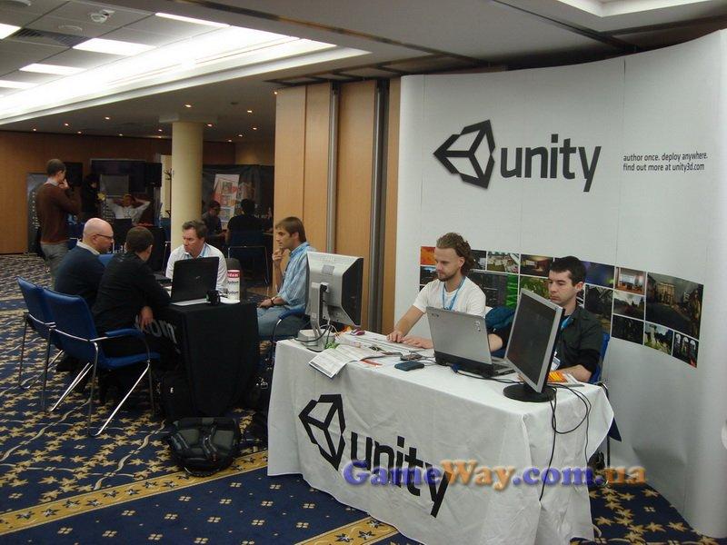 Стенд движка для игр Unity на Casual Connect Kyiv 2010