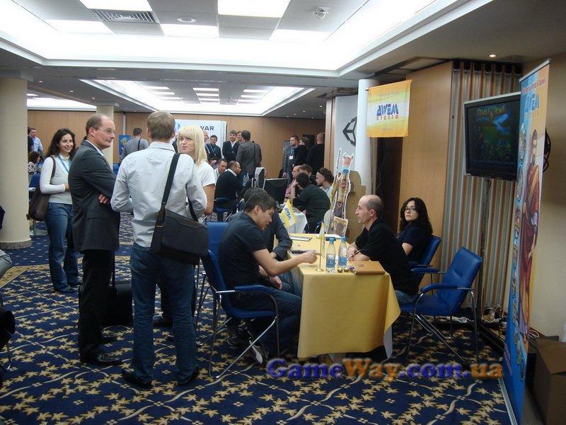 В выстовочном зале Casual Connect Kyiv 2010 всегда было людно