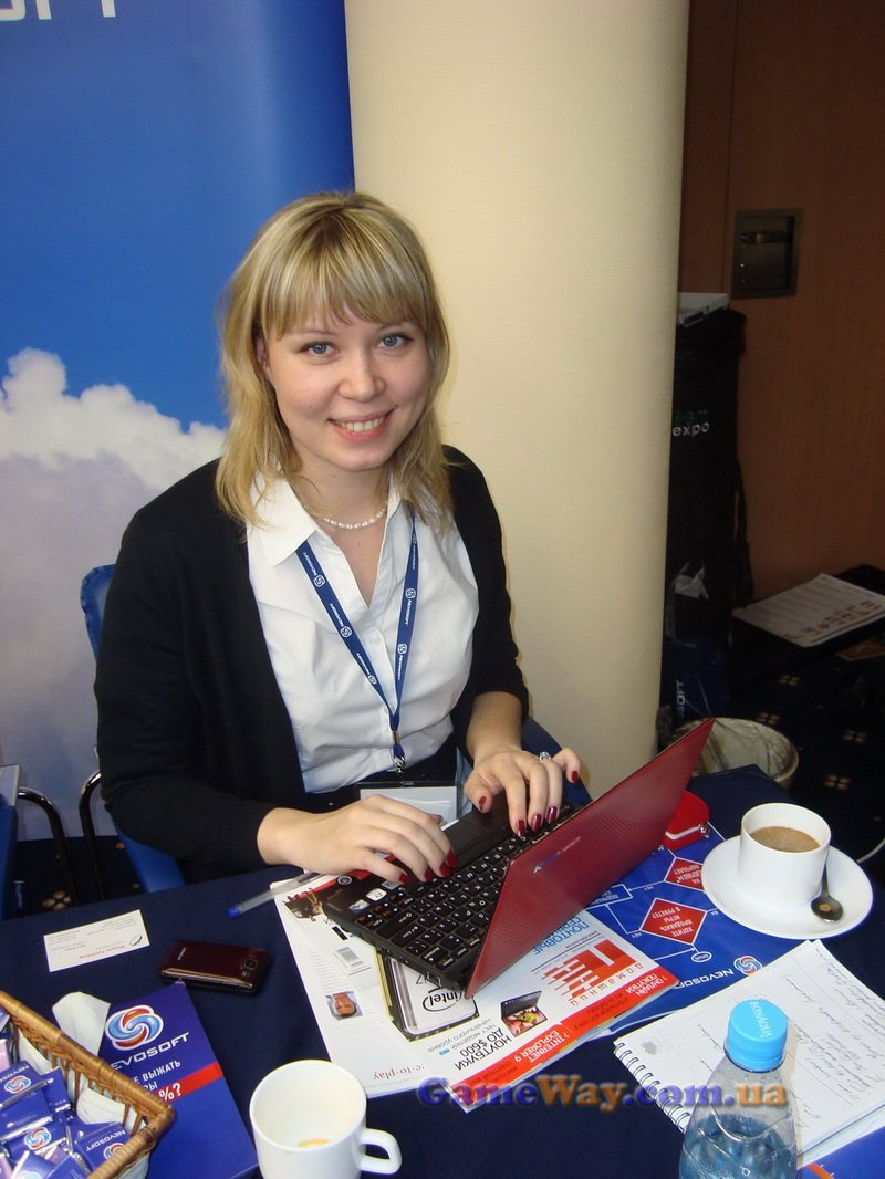 PR-менеджер компании Nevosoft Юлия Лебедева