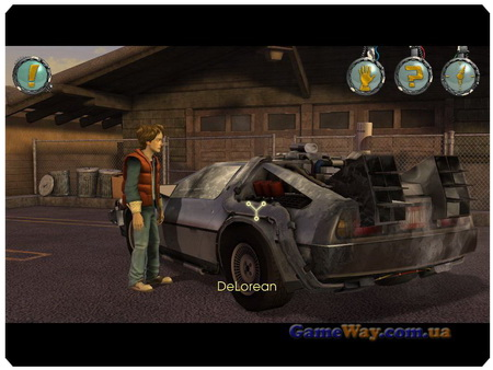 Back to the Future: The Game, Episode 1 скриншоты
