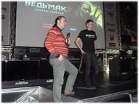 Презентация игр Ведьмак 2 и Ил-2 Битва за Британию