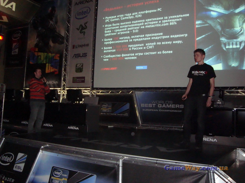 Презентация игры Ведьмак 2