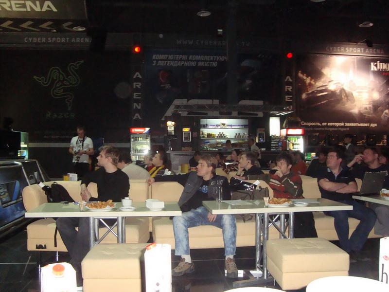 Зрители на Games Day в ЗОНЕ51
