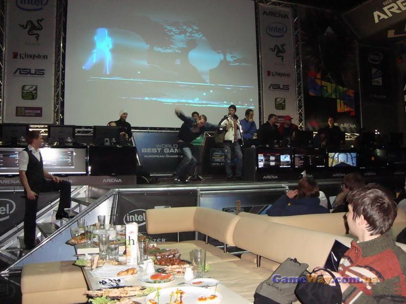 """Конкурс танцев на Games Day в """"Киберспорт Арене"""""""