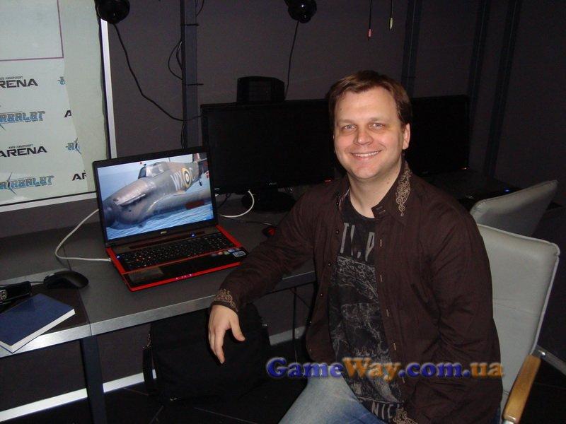 Илья Шевченко – главный продюсер разработки «ИЛ-2 Штурмовик: Битва за Британию»