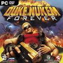 Duke Nukem Forever обложка диска