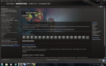 Witcher 2 теперь в Steam
