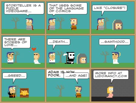 Storyteller - игра в комиксы