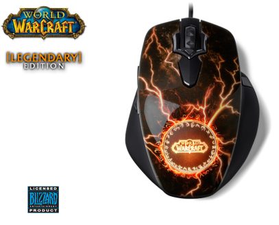 SteelSeries World of Warcraft MMO: Legendary Edition.