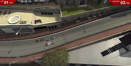 F1 Online: The Game - бесплатно, с видом сверху