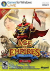 Age of Empires Online обложка диска