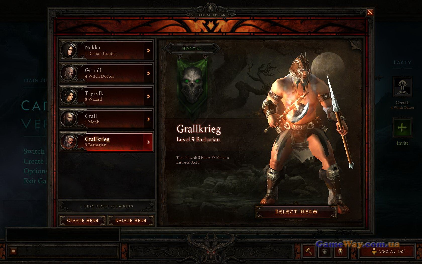 <strong>Diablo 3</strong> � ��������������� ����� (������, Preview) | GameWay