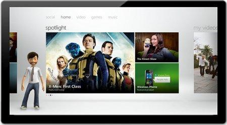 Скриншот Xbox LIVE на Windows 8