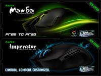 Обзор геймерских мышек Razer Imperator 2012 и Razer Mamba 2012