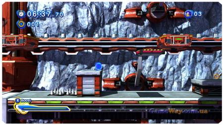 Sonic Generations скриншоты