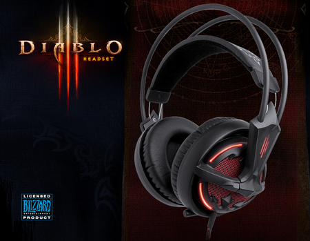 SteelSeries Siberia V2 Diablo 3 Edition