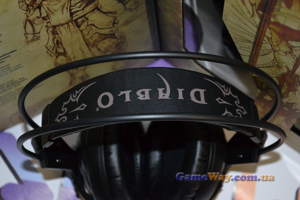 SteelSeries Siberia V2 Diablo III Edition обзор