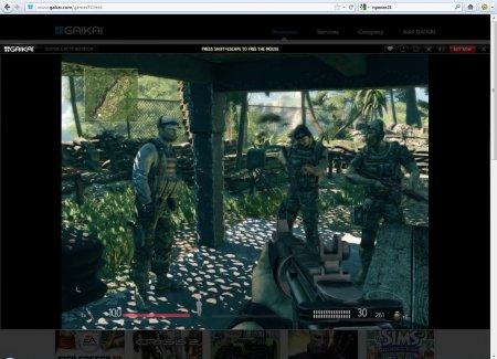 Bad Company 2, Crysis 2, FIFA 12 и другие хиты - прямо в браузере