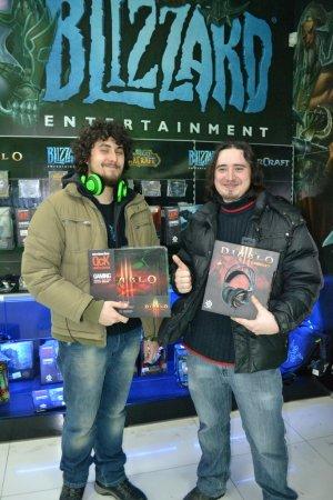 Победители конкурса по Diablo 3 – получили свои призы (ФОТО)